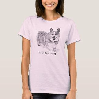 WaliserCorgi im Schnee T-Shirt