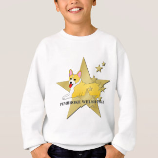 Walisercorgi-Sterne Sweatshirt