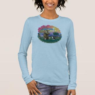 WaliserCorgi (Tri Farbe) Langarm T-Shirt