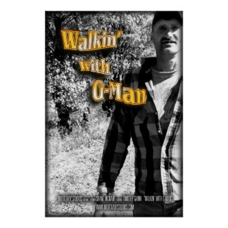 Walkin mit G-Man Poster