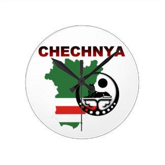 Wall Clock Chechnya Uhren