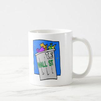 Wall Street Abfalleimer Kaffeetasse