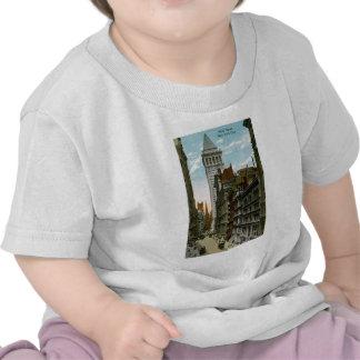 Wall Street New York City T Shirt