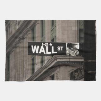 Wall Street New York Handtuch