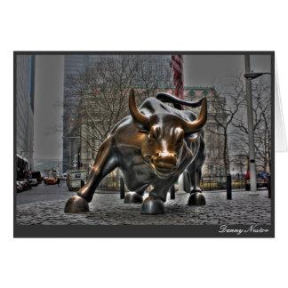 Wall Street Stier Karte