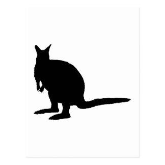 Wallaby. Postkarte