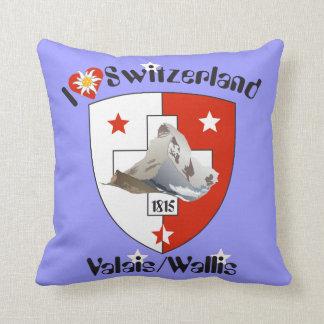 Wallis Valais Schweiz Suisse Kissen