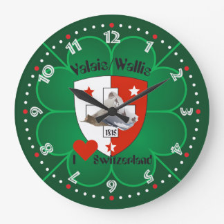 Wallis Valais Schweiz Suisse Uhr
