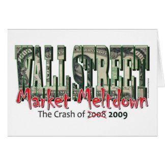 WallStreet Markt-Einschmelzen Karte