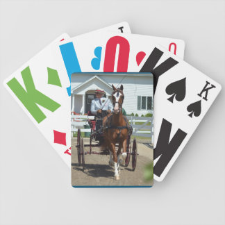 Walnuss-Hügel-Wagen, der Show 2015 fährt Bicycle Spielkarten