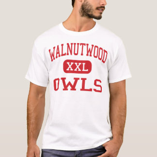 Walnutwood - Eulen - hoch - Rancho Cordova T-Shirt