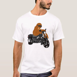 Walroß auf einem Davison T-Shirt