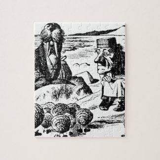 Walroß, Carpeter und Austern Puzzle