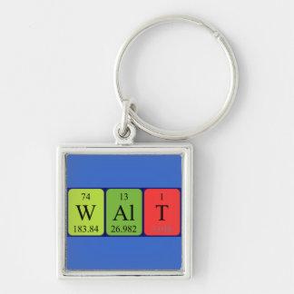 Walt Periodensystem-Namenschlüsselring Schlüsselanhänger