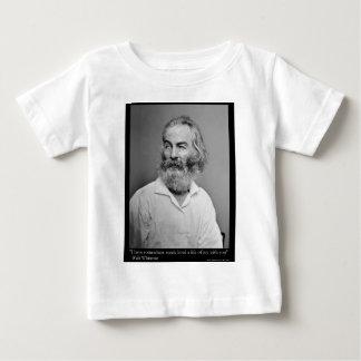 Walt Whitman Freude mit Ihnen Baby T-shirt