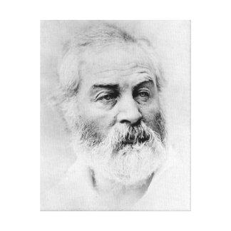 Walt Whitman zivile Kriegsjahre Alters-44 Leinwanddruck