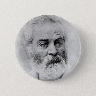 Walt Whitman zivile Kriegsjahre Alters-44 Runder Button 5,7 Cm