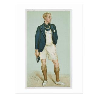 Walter Erskine-Crum, Illustration 'von den Männern Postkarte