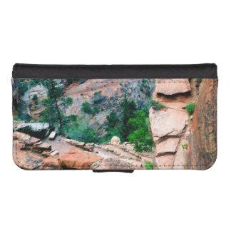 Walters Wiggles Zion Nationalpark Utah iPhone SE/5/5s Geldbeutel Hülle