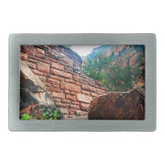 Walters Wiggles Zion Nationalpark Utah Rechteckige Gürtelschnalle