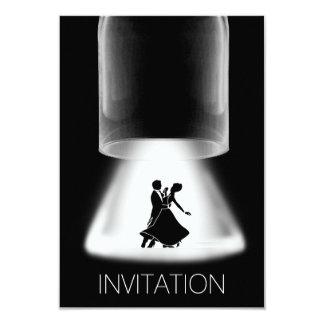 Walzer Festival-klassische Tanz-Einladung 8,9 X 12,7 Cm Einladungskarte