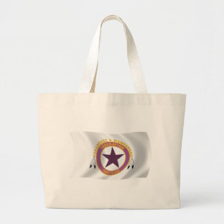Wampanoag Stamm-Flaggen-Taschen-Tasche Jumbo Stoffbeutel