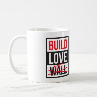Wand der Gestalt-Liebe nicht Antitrumpf Kaffeetasse