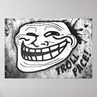Wand-Kunst   die Trollface Sammlung (3/3) Poster