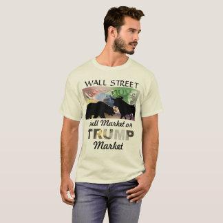 Wand Strreet - Hausse oder Trumpf-Markt T-Shirt