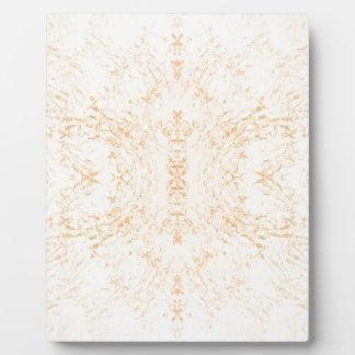 Wandbeschaffenheits-Blume Rorschach Fotoplatte