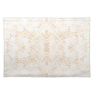 Wandbeschaffenheits-Blume Rorschach Stofftischset