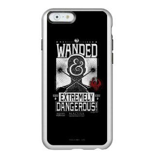 Wanded u. extrem gefährliches gewolltes Plakat - Incipio Feather® Shine iPhone 6 Hülle