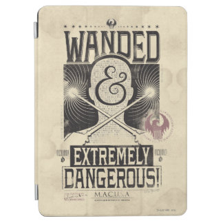 Wanded u. extrem gefährliches gewolltes Plakat - iPad Air Hülle