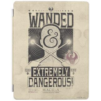 Wanded u. extrem gefährliches gewolltes Plakat - iPad Hülle