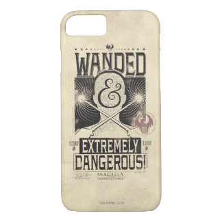 Wanded u. extrem gefährliches gewolltes Plakat - iPhone 8/7 Hülle