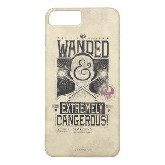 Wanded u. extrem gefährliches gewolltes Plakat - iPhone 8 Plus/7 Plus Hülle