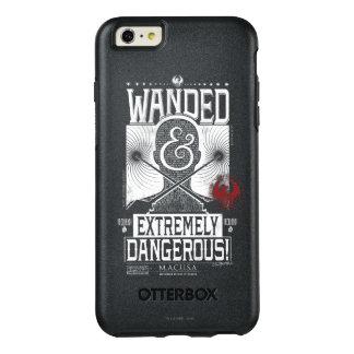 Wanded u. extrem gefährliches gewolltes Plakat - OtterBox iPhone 6/6s Plus Hülle
