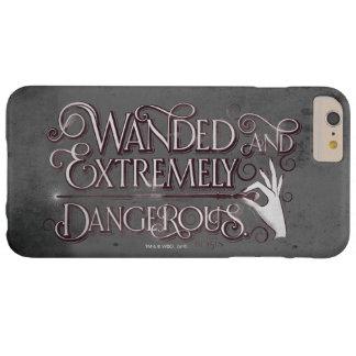 Wanded und extrem gefährliche Grafik- Weiß Barely There iPhone 6 Plus Hülle