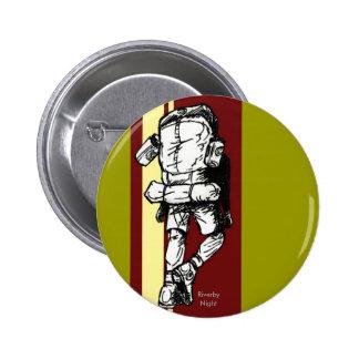 Wanderer (Typ) - RedYellow Runder Button 5,1 Cm