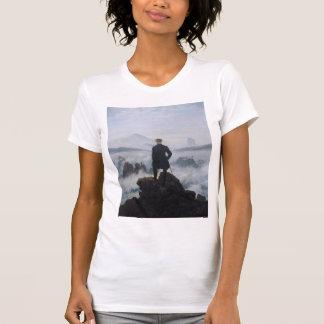 Wanderer über dem Meer des Nebels T-Shirt