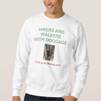 Wanderer und Wanderer mit Doggage Sweatshirt
