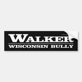Wanderer, Wisconsin-Tyrann Autoaufkleber
