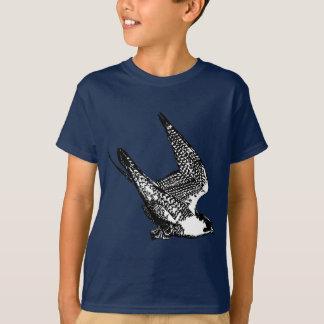 Wanderfalke-Skizze T-Shirt