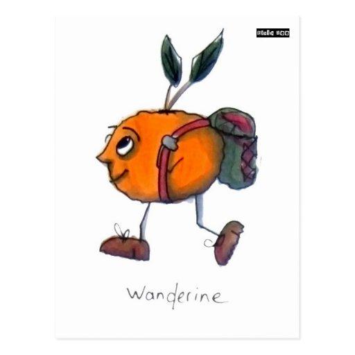 Wanderine Postkarte