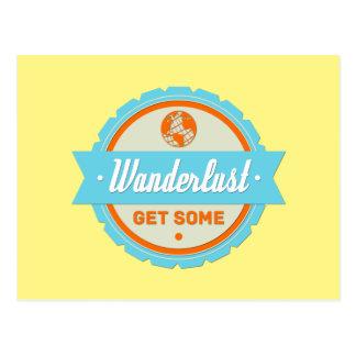 Wanderlust: Erhalten Sie einiges Postkarte