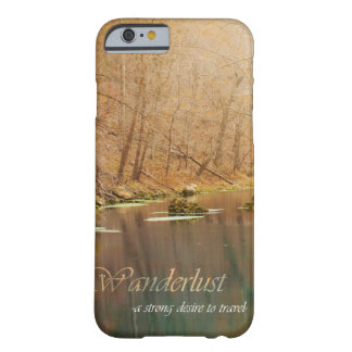Wanderlust Iphone Fall Barely There iPhone 6 Hülle