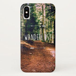 Wanderlust iPhone X Hülle