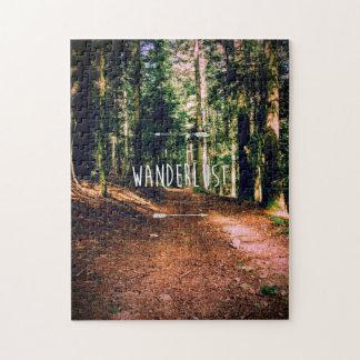 Wanderlust Puzzle
