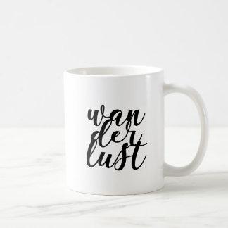 Wanderlust-Tasse Kaffeetasse