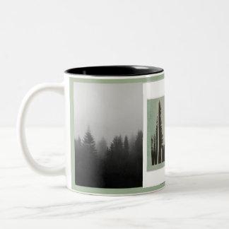 Wanderlust-Tasse Zweifarbige Tasse